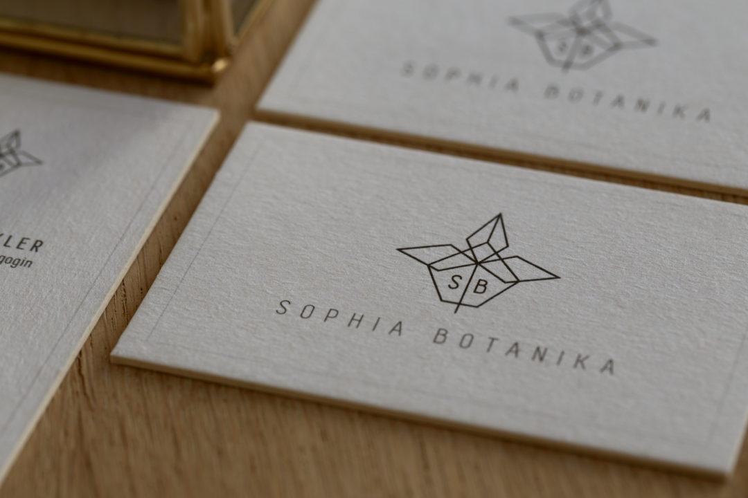 Sophia Botanika Business Card